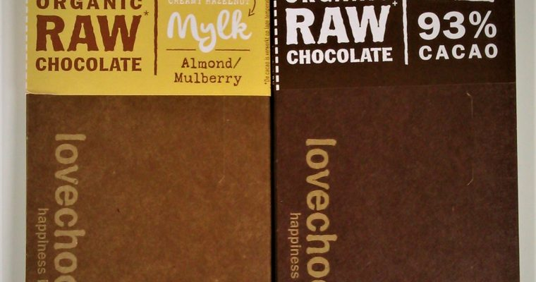 Lovechock Organic Raw Chocolate