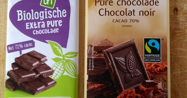 Fairtrade chocolade Lidl/Albert Heijn