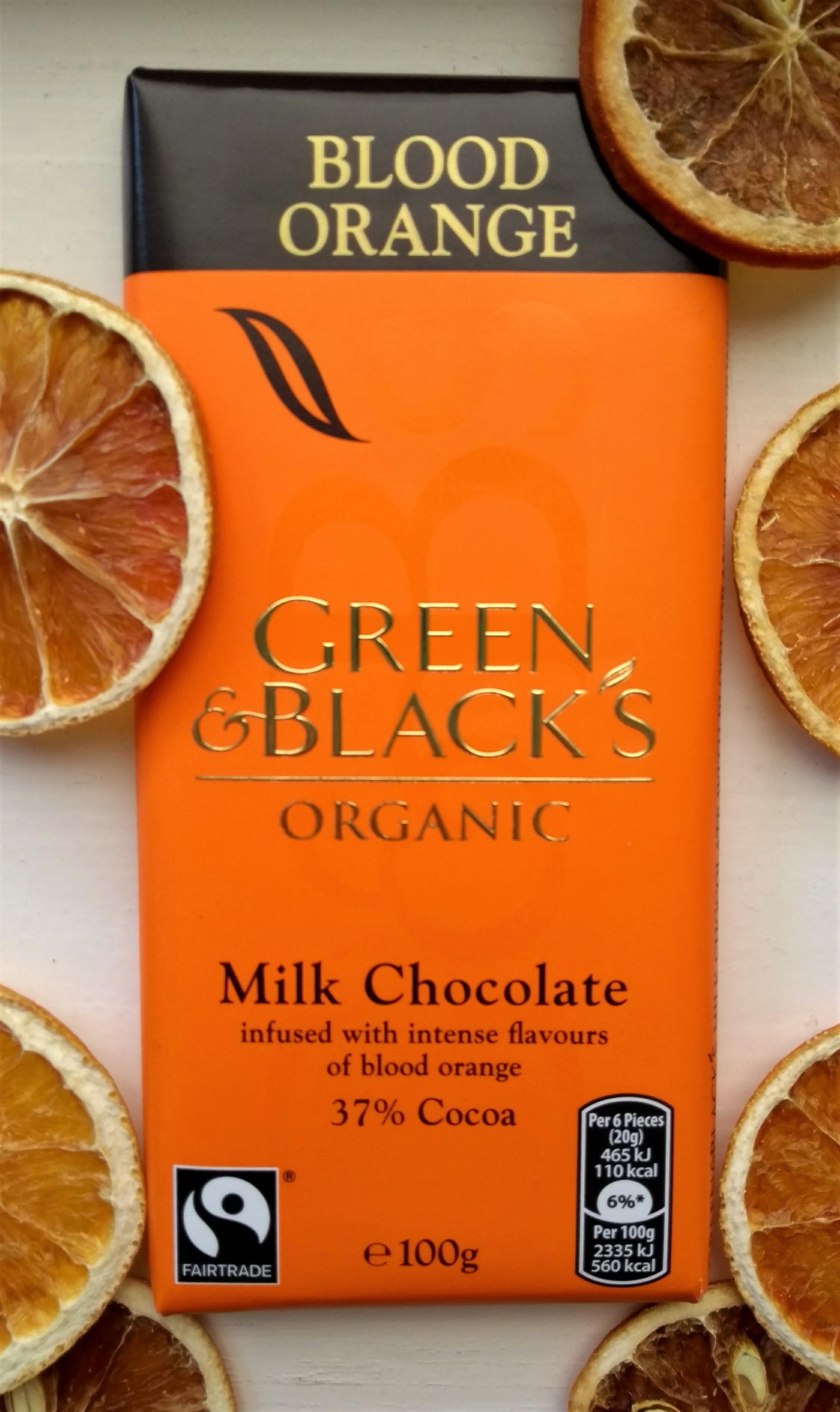 Green & Black's Blood Orange