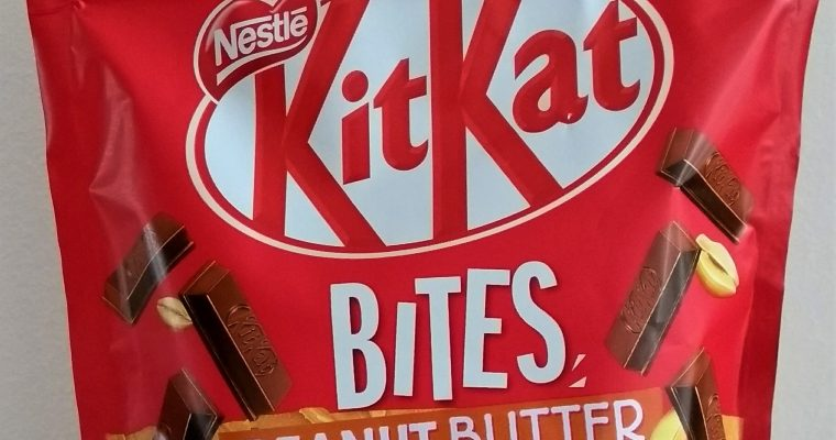 KitKat Bites Peanut Butter Review