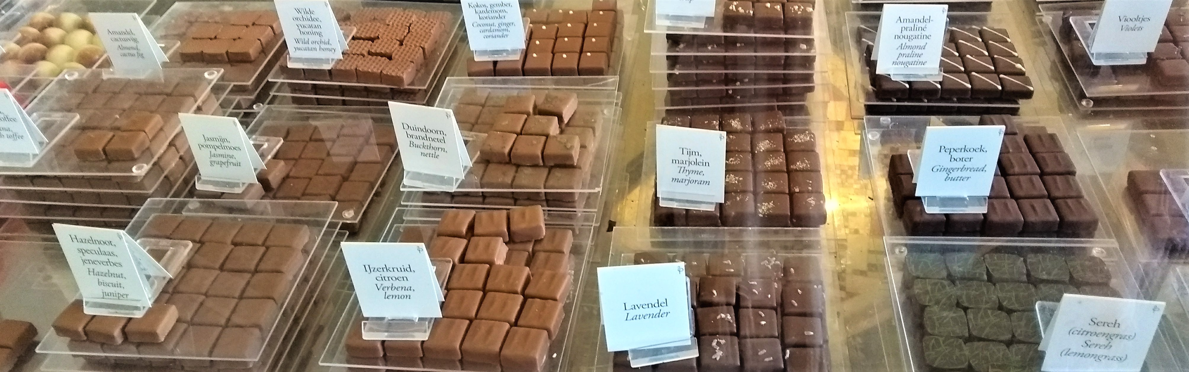 Chocolate and the City: chocoladewinkels in Den Haag