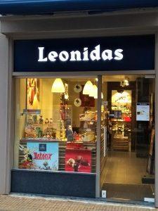 Leonidas bonbons Utrecht