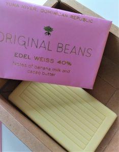 Original Beans witte chocolade
