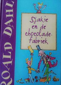 Sjakie en de chocoladefabriek boek