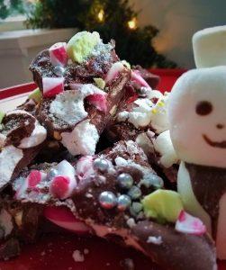 Breekchocolade kerst recept