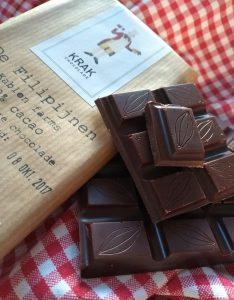 Krak chocolade Filipijnen