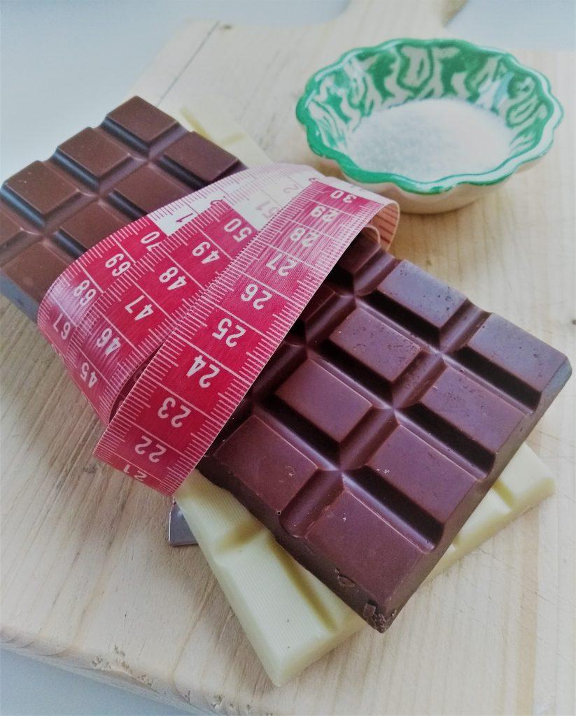 suikerarme chocolade zoetstof