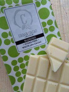 suikervrije chocolade Urban Cacao