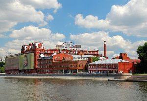 Rode Oktober chocoladefabriek