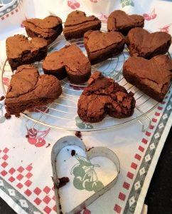 brownieharten recept