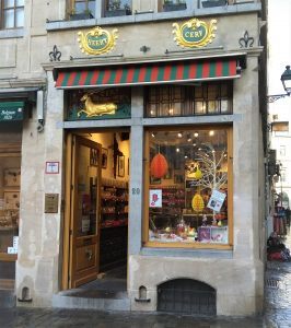 Bruyerre Brussel chocoladewinkel