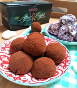 After eight Truffels maken