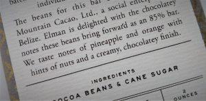 chocolade proeven