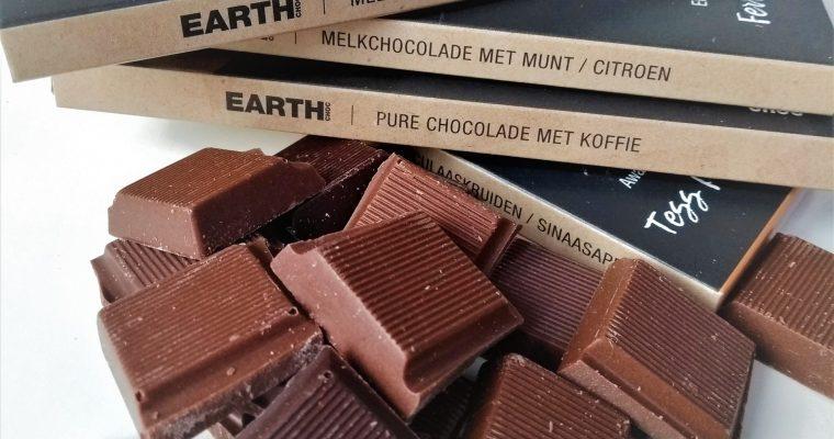 EARTH Choc, Nederlands nieuwste (h)eerlijke chocolademerk
