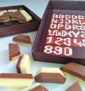 chocoladeletter LOCOletter