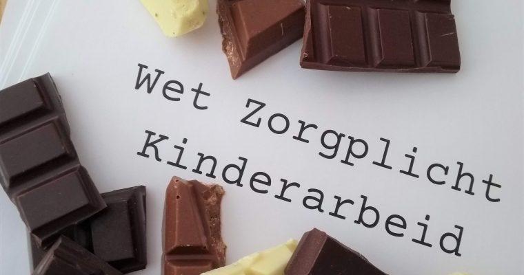 Kinderarbeid en chocolade: wet ermee!