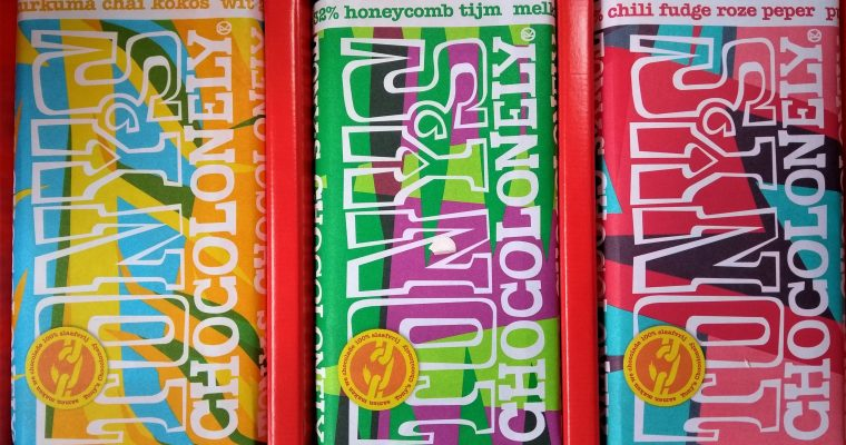Spicy stuff: de nieuwe limited editions van Tony's Chocolonely