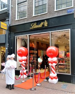 Lindt Amsterdam chocoladewinkel