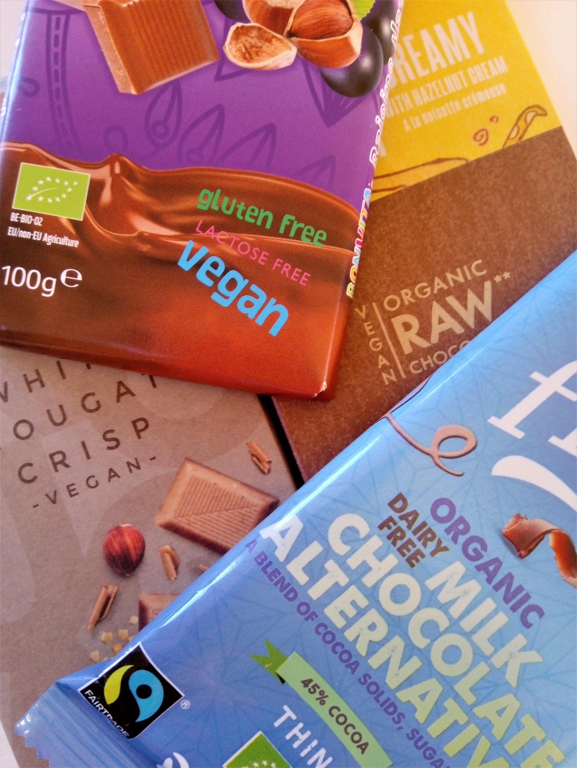 Vegan chocolade: puur, maar ook in melk en wit