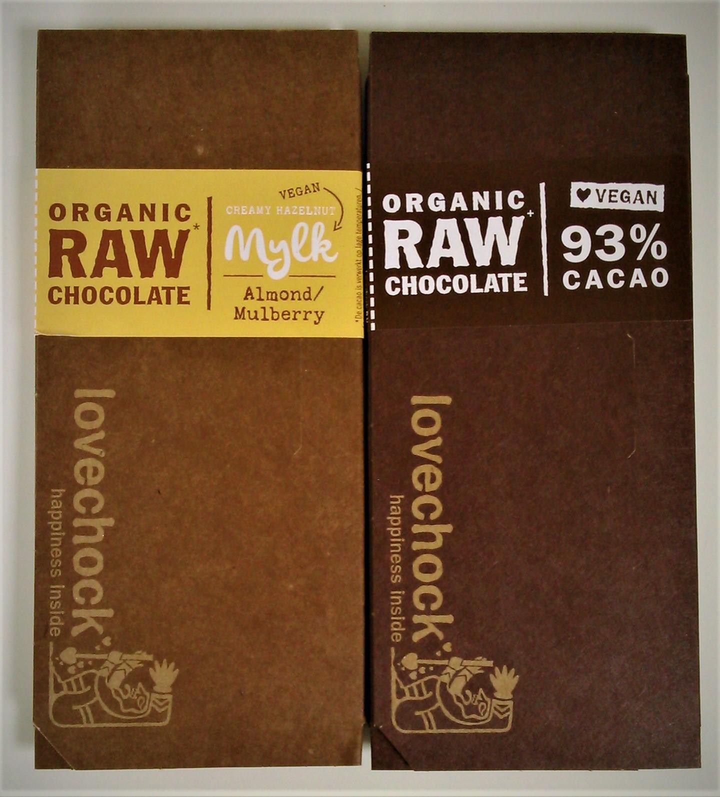 Lovechock Organic Raw Chocolate