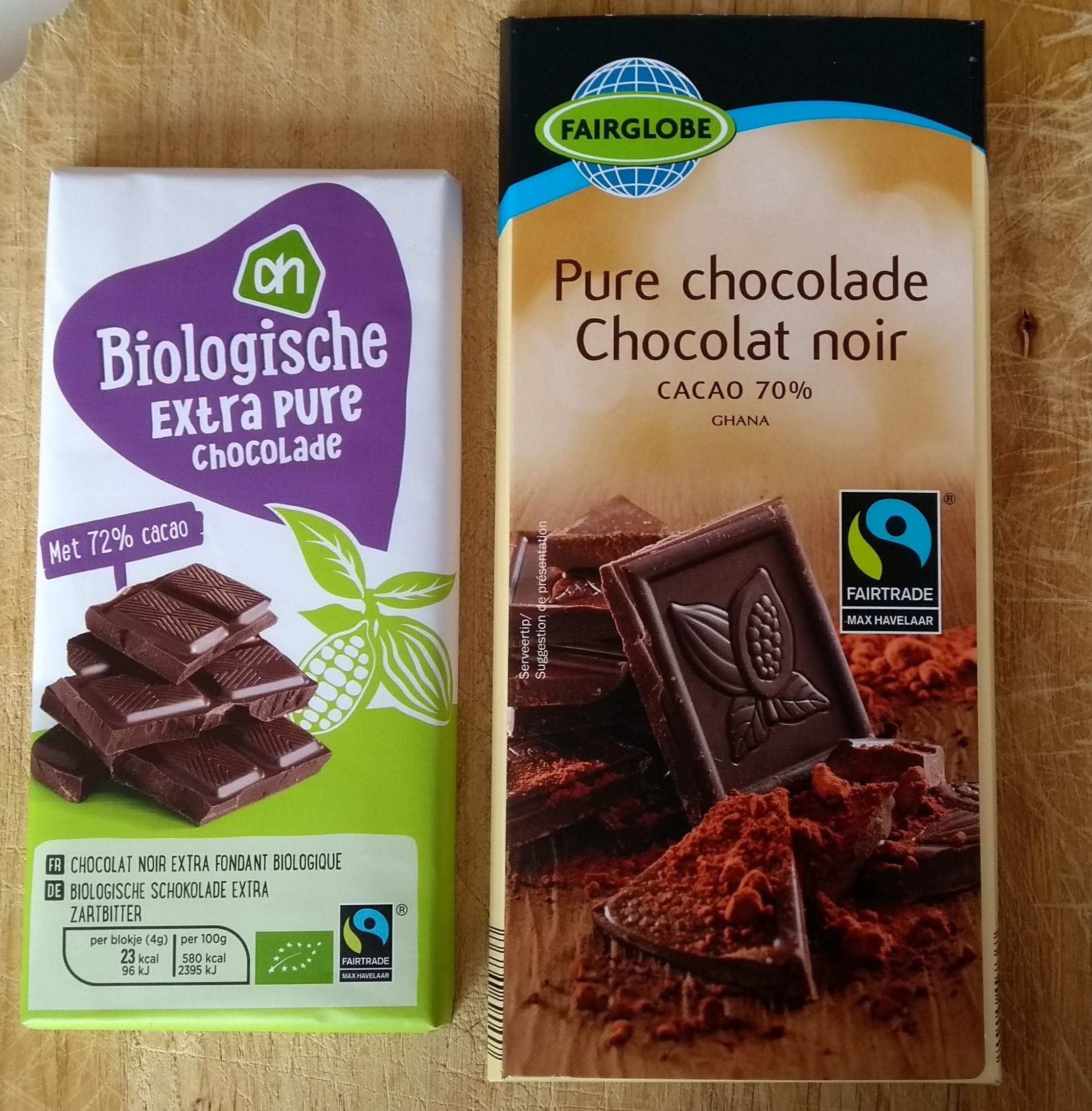 Fairtrade chocolade Lidl/Albert Heijn