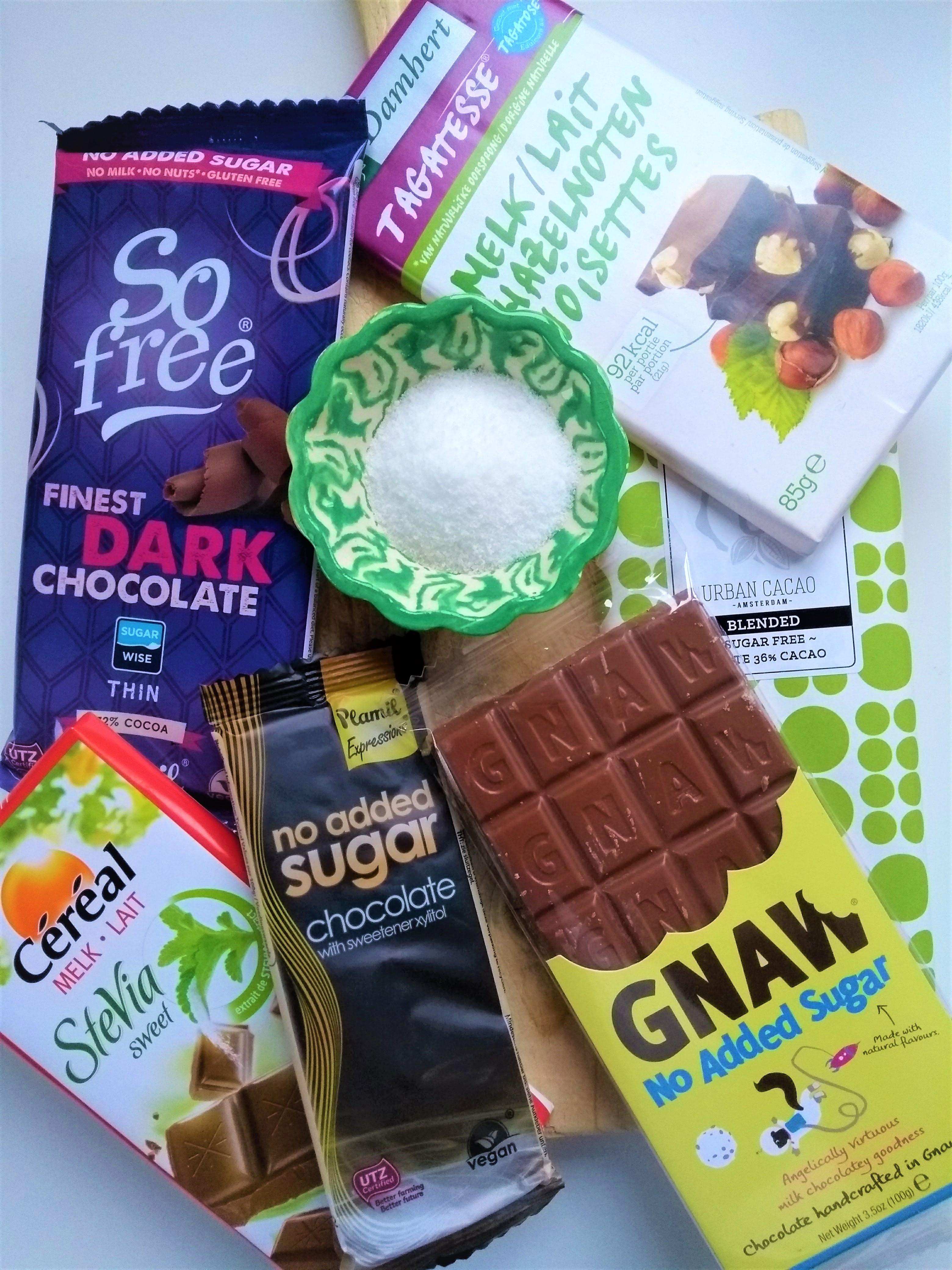 Suikervrije chocolade met zoetstof: lekker, veilig en goed voor de lijn?