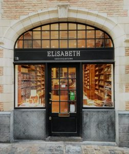 Elizabeth chocolaterie Brussel
