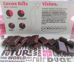 Rokbar chocoladereep