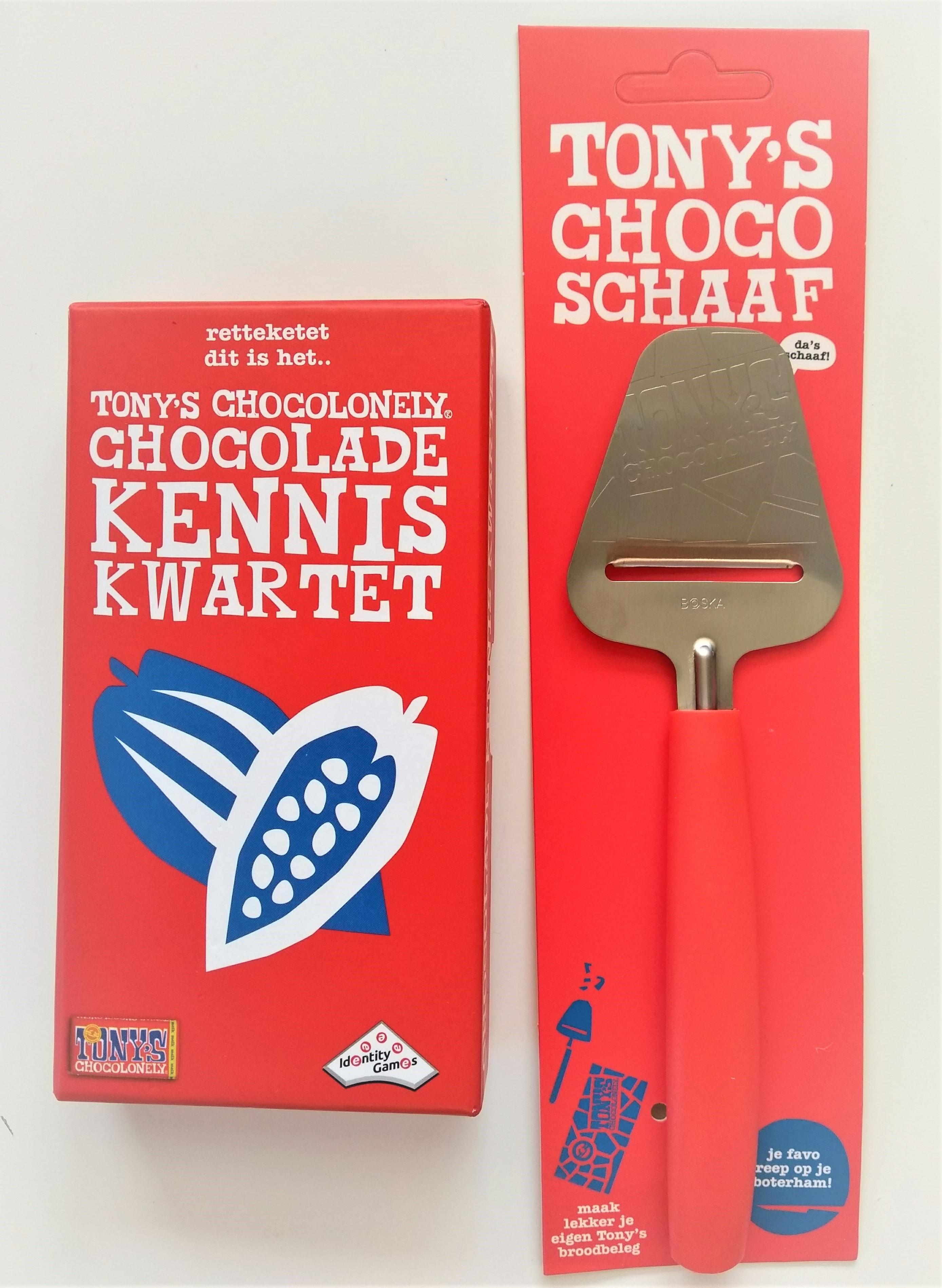 Chocoschaaf en kwartet: nieuwe Tony's Chocolonely gadgets!