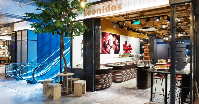 Leonidas opent Flagshipstore in Mall of the Netherlands