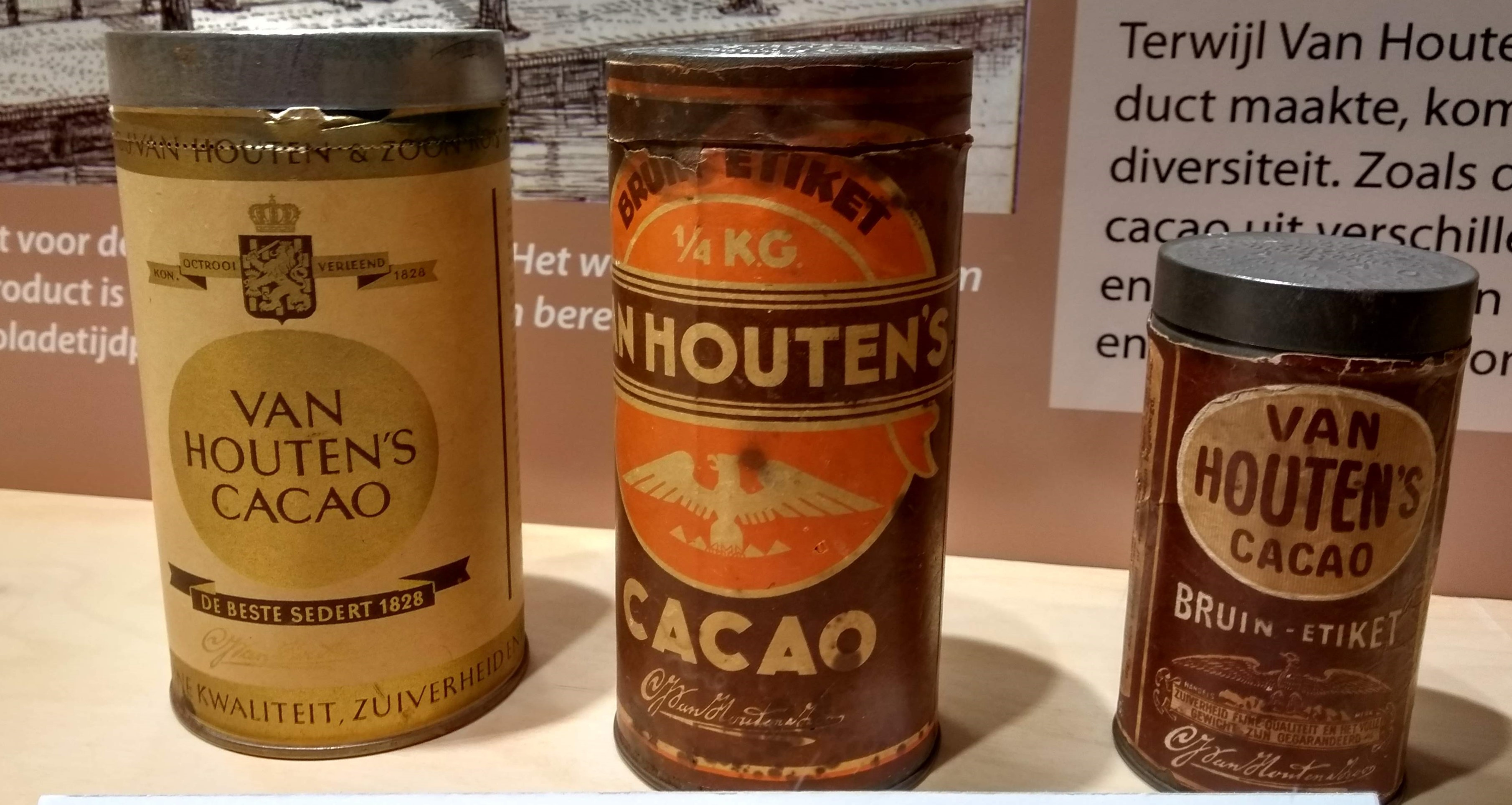 Van Houten – chocolade tentoonstelling in Weesp