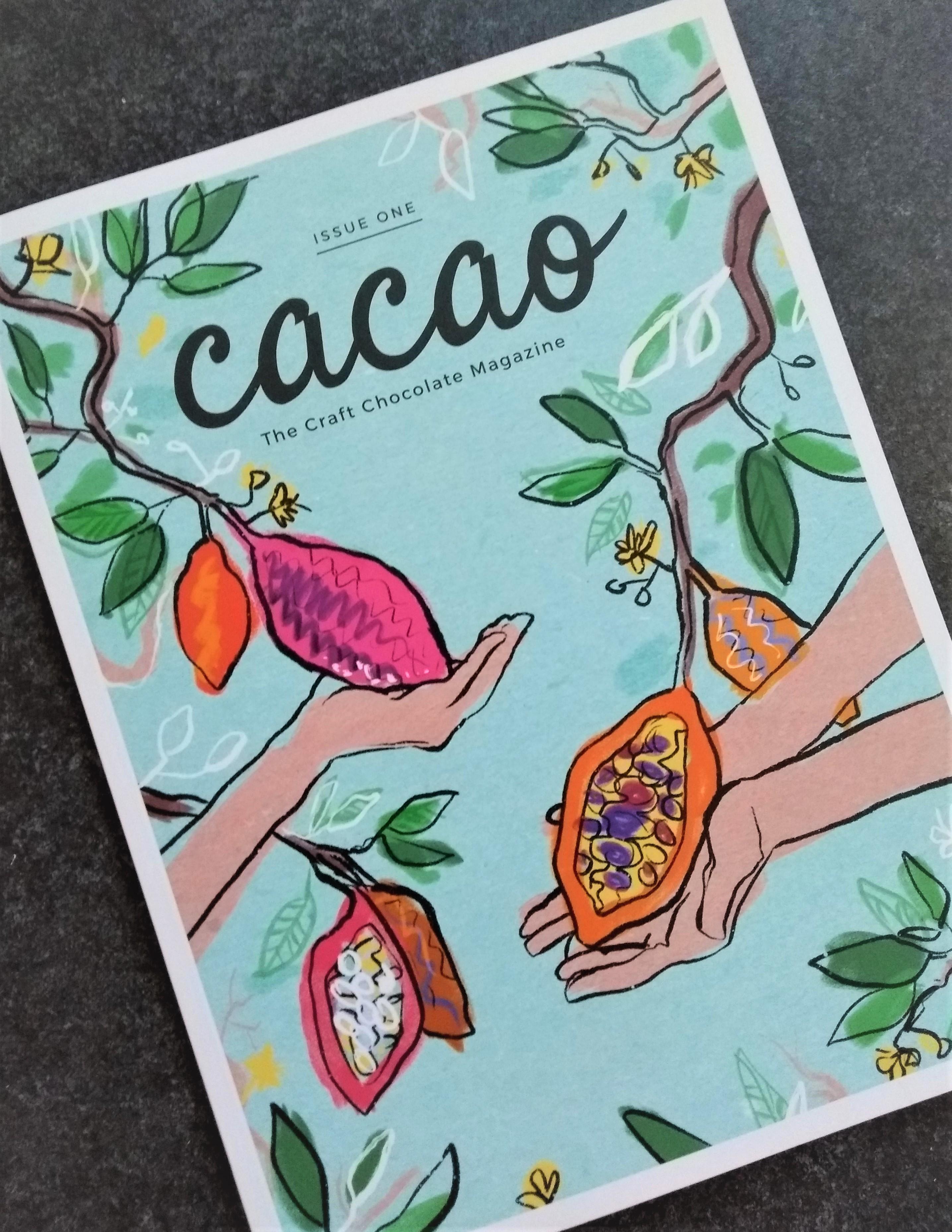 Cacao, the Craft Chocolate Magazine: lekker leesvoer!