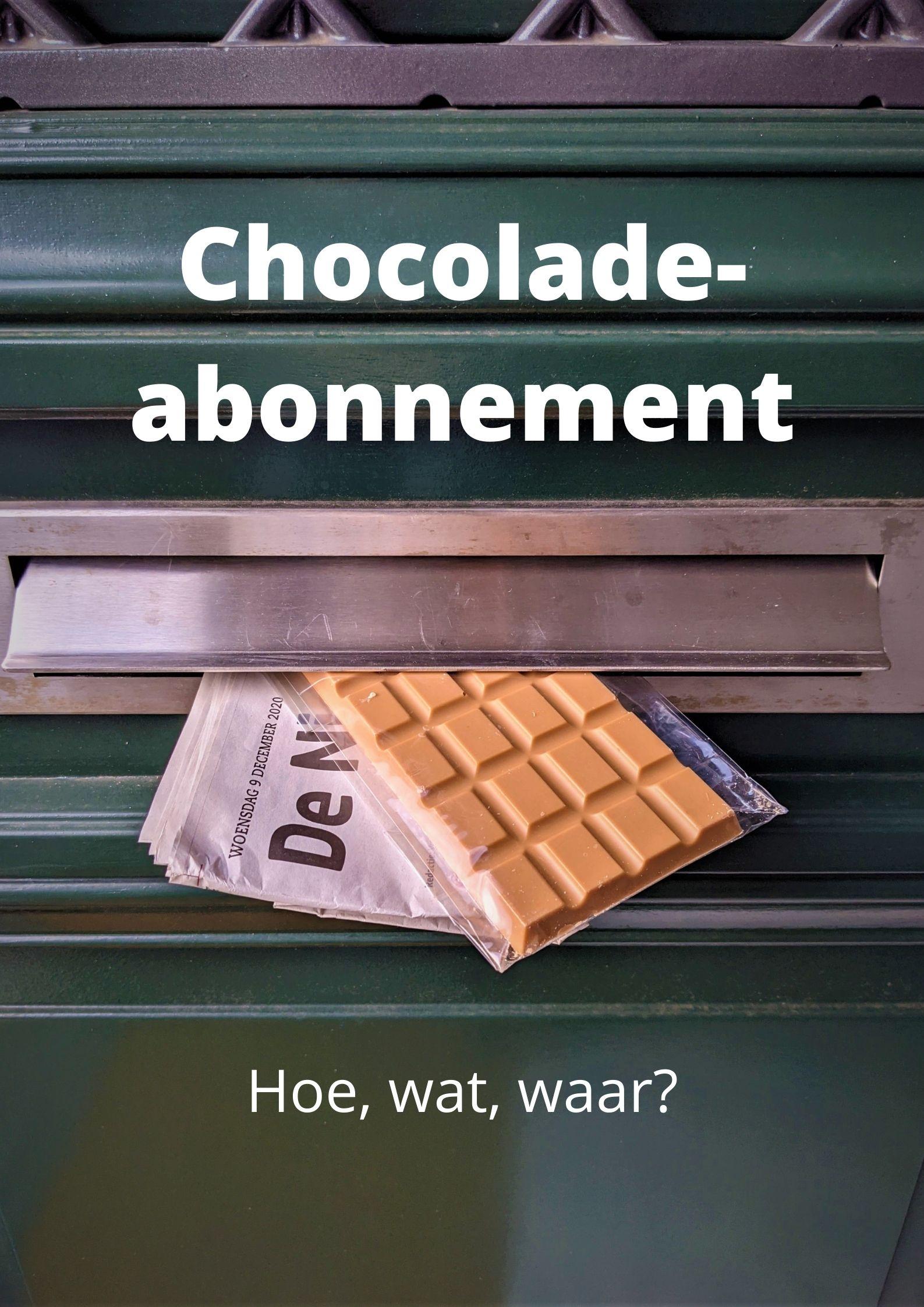 Chocolade-abonnement: wat is het en hoe werkt het?