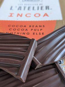 Incoa Nestle chocolade met cacaopulp