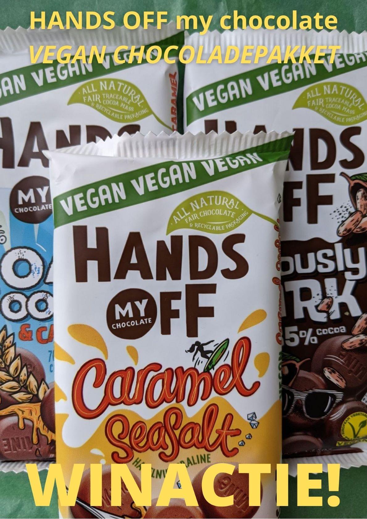 Vegan repen van Hands Off My Chocolate