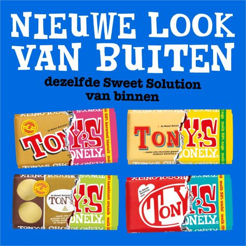 Sweet solution Tony's Chocolonely
